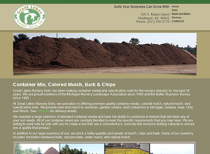 Great Lake Nusery Soils