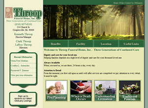 Throop Funeral Home - Coopersville