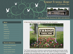 Throop Funeral Home of Ravenna